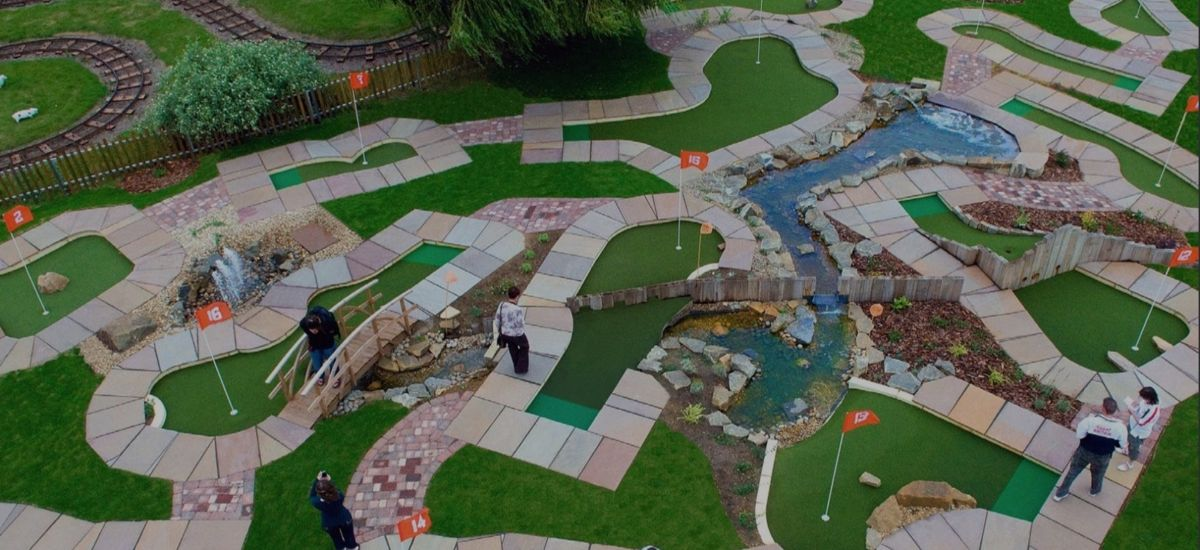The number one mini golf company in the uk - investment opportunity