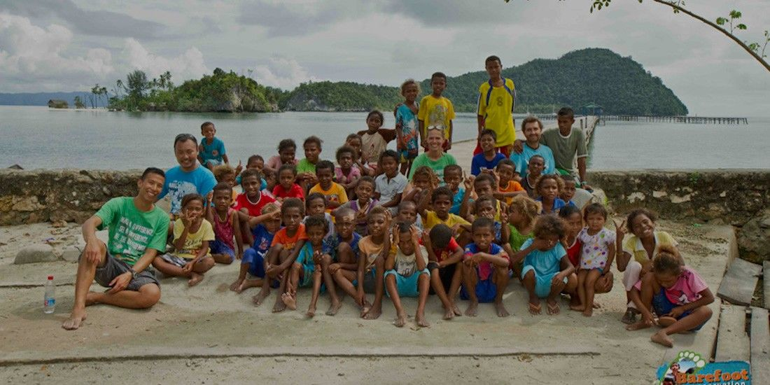 Marine conservation company tackling plastic pollution and providing community support in indonesia - investment opportunity
