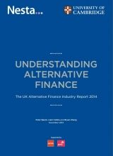 Alternative Finance Grows Over 100% In 2014